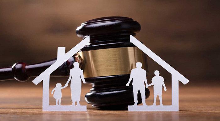Cese de convivencia y tribunal de familia