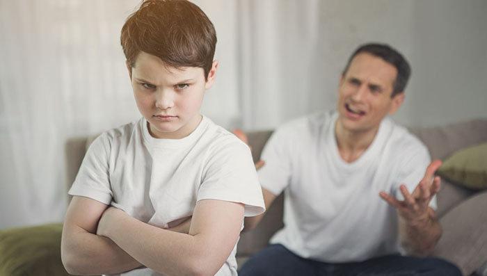 Qué pasa si el menor se rehúsa a ver a su padre